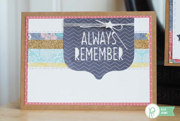 Patriotic card set created by @beckiadams for @pebblesinc