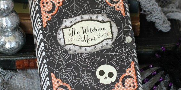 Spooky Book Card Box
