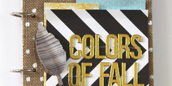 Colors of Fall Mini Album