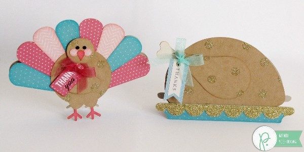 Turkey Themed Thank You Cards