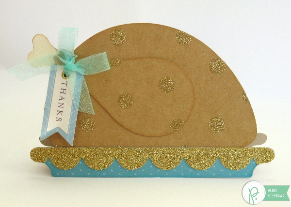 Home+Made Turkey Thank You Card by Mendi Yoshikawa using the #JHHomeMade collection from @PebblesInc. @SnippetsByMendi