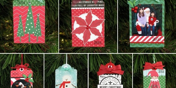 Home For Christmas Ornament Gift Tags