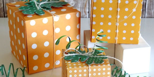 Pumpkin Gift Boxes