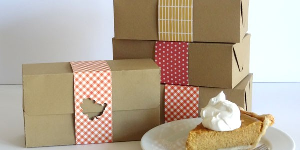 Thanksgiving Takeout Boxes