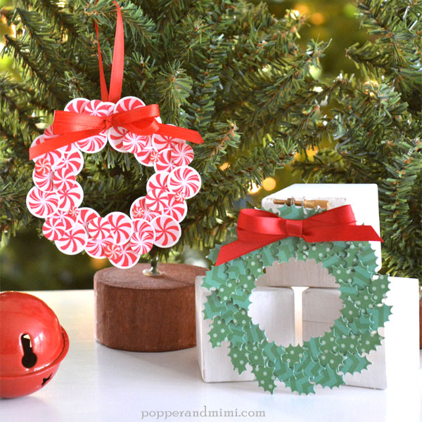 Mini Wreath Ornaments by @amanda_coleman1