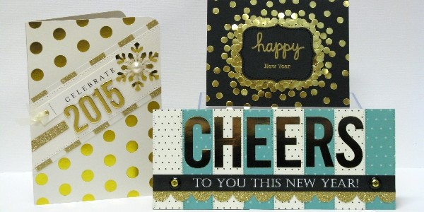 New Year Cards that Sparkle and Shine!