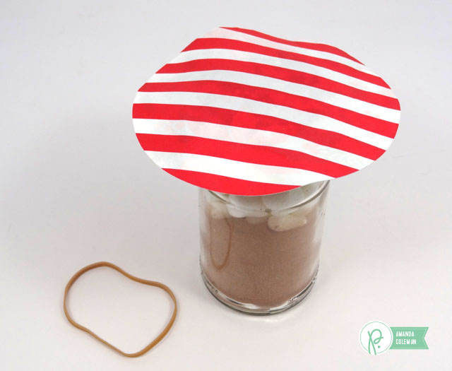 Quick Hot Cocoa Gifts by @popperandmimi using Home for Christmas goodies by @PebblesInc