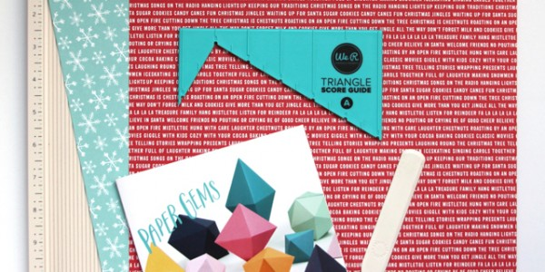 Paper Gem Gift Card Holders