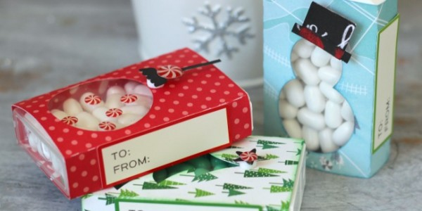 Christmas Tic Tac Boxes