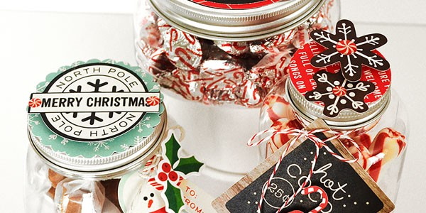 Simple Holiday Gifts with Handmade Tags