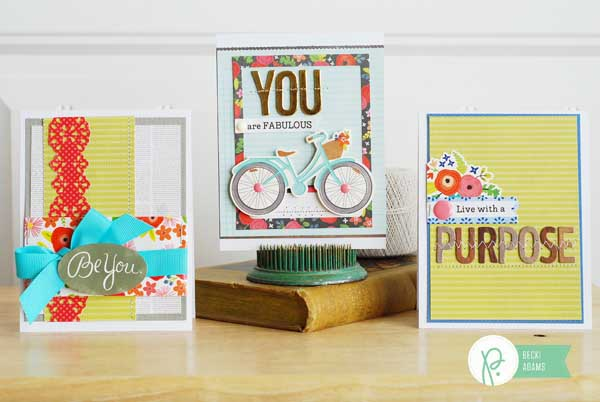 Inspirational cards created  by @jbckadams for @pebblesinc