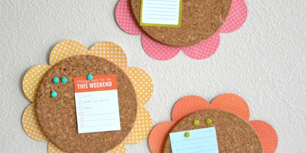Flower Cork Boards