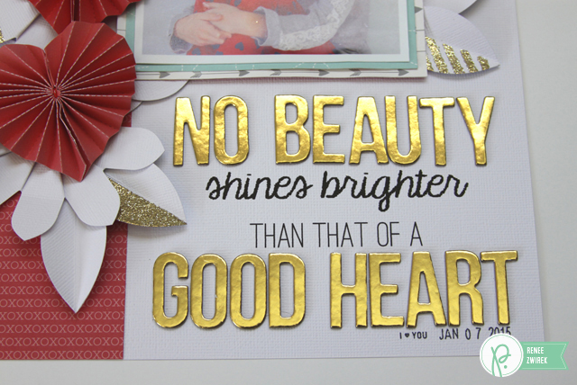 Good Heart layout by @Renee Zwirek using the #WeGoTogether collections by @PebblesInc. and #wermemorykeepers