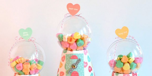 Candy Heart Gumball Machine