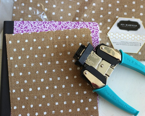 How to make a DIY Altered Notebook using the @pebblesinc Home + Made collection and @wermemorykeepers by @ribbonsandglue