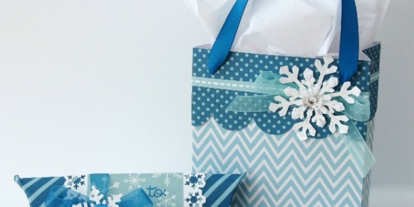 Winter Snowflake Gift Packaging