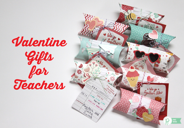Valentine Gifts For Teachers By @Renee Zwirek Using The #WeGoTogether  Collections By @PebblesInc