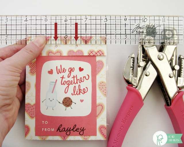 Children's Classroom Valentine's Day Cards & Treats by Mendi Yoshikawa using the #WeGoTogether collection from @PebblesInc. @SnippetsByMendi