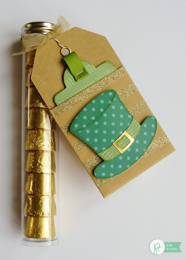 St. Patrick's Day Treats by Mendi Yoshikawa using various @PebblesInc. collections. @SnippetsByMendi