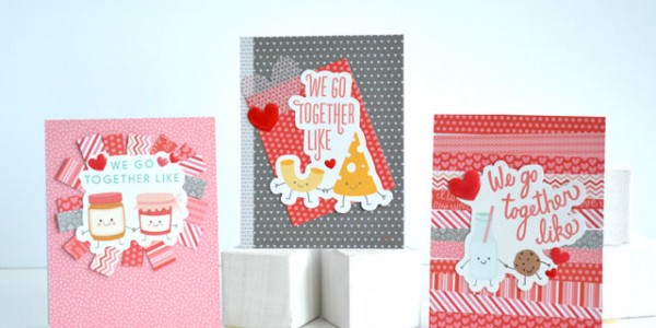 Valentine's Day Cards Using Paper Scraps