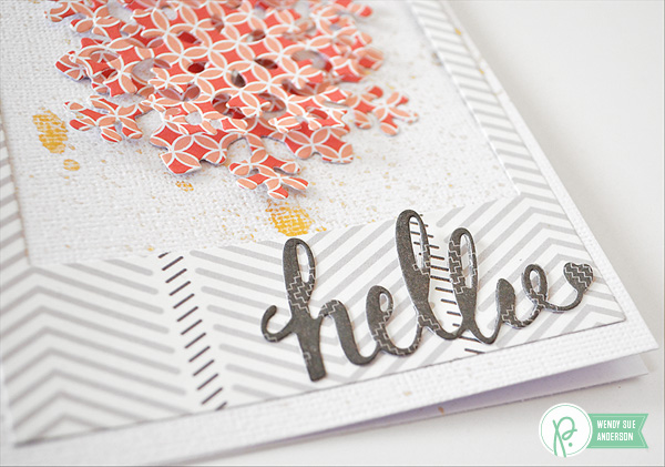 Winter Hello Cards by @wendysuea featuring the #cottageliving collection by @pebblesinc.