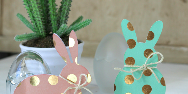 Polka Dot Bunny Cards