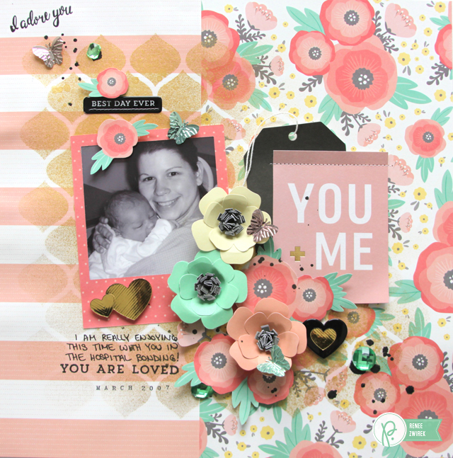 You + Me layout by @Renee Zwirek using the #JHCottageLiving collection by @PebblesInc. and and @Tatertots and Jello .com
