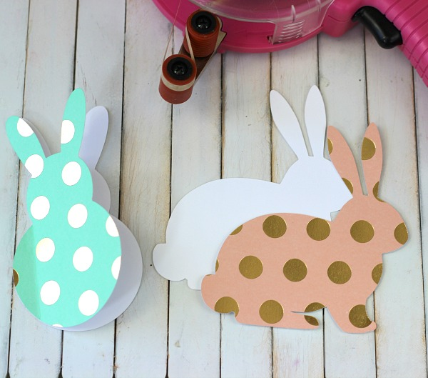How to make Bunny Cards using the @pebblesinc Cottage Living collection