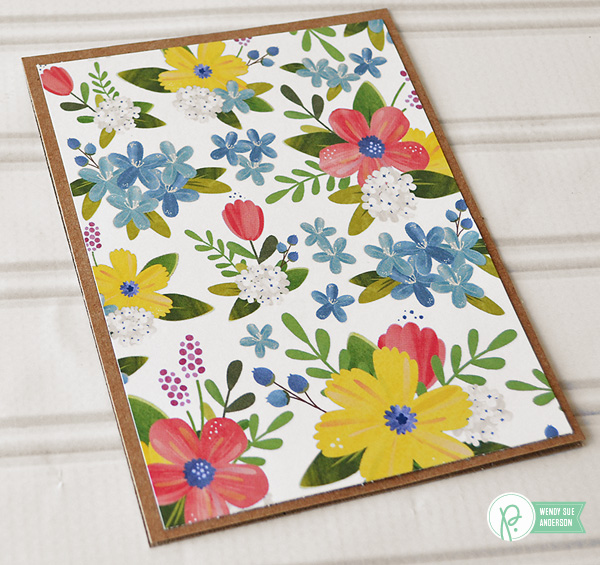 Garden Bouquet Cards by @wendysuea for @pebblesinc using the #homegrown collection