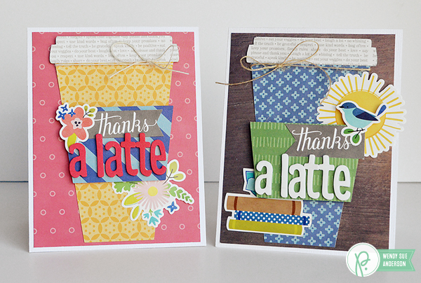 "Teacher Appreciation Cards by @wendysuea for @pebblesinc with the ""Home Grown"" and ""Happy Day"" collections"