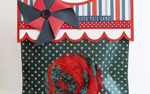 Memorial Day Window Treat Bags