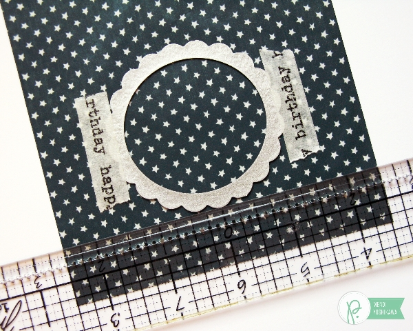 Window Treat Bag Tutorial by Mendi Yoshikawa using the #Americana collection from @Pebbles @SnippetsByMendi