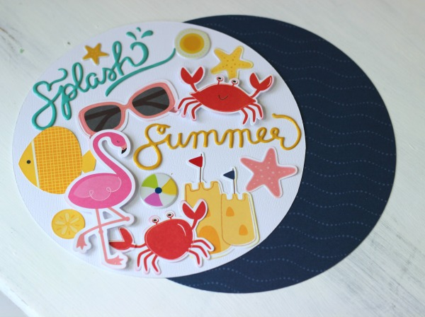 @pebblesinc Fun in the Sun home deocr project created by @ribbonsandglue