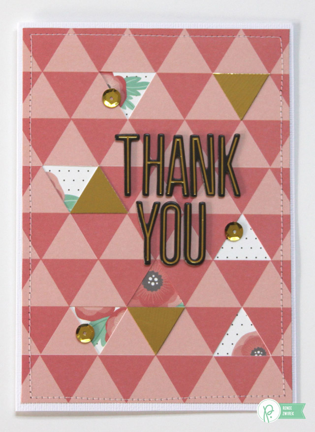 Teacher Thank You cards by @reneezwirek using the #HomeGrown, #JHHomeMade, and #JHCottageLiving collections by @PebblesInc. and @Tatertots and Jello .com