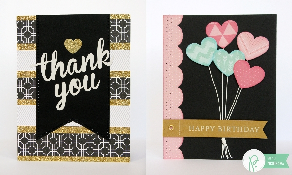 Cards with built-in Gift Card Holders by Mendi Yoshikawa using #CottageLiving collection from @PebblesInc. @SnippetsByMendi