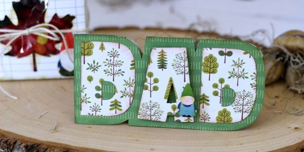 Father's Day Card and Treat Box