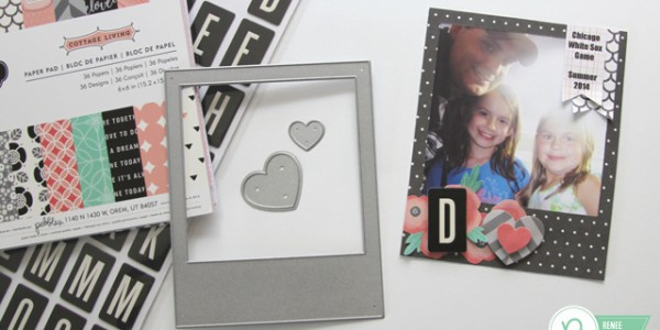 Father's Day Photo Frame Magnet Card and Simple Gift Wrapping