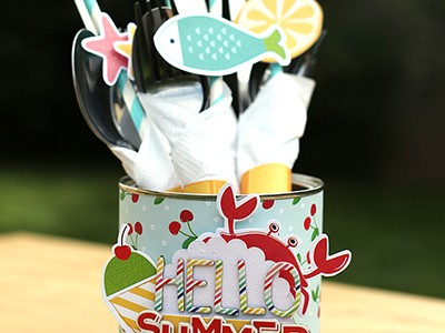 Summer Cutlery Holder