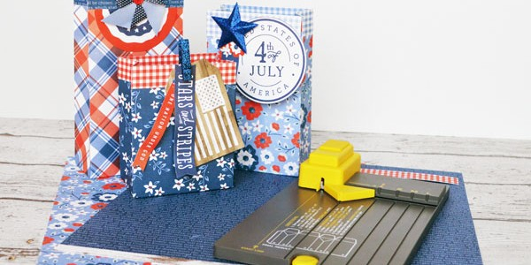 Red, White, and Blue Gift Bags