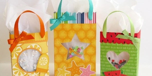 Fun In The Sun Shaker Gift Bags