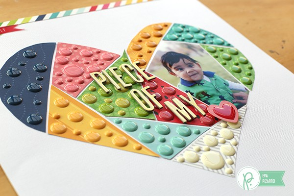 Enamel Dots Layout by @evapizarrov using #FunInTheSun collection by @pebblesinc