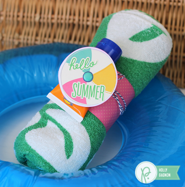 Pool Gift Ideas cool gift ideas for the pool owner who has everything Pool Party Gift Idea Made With Pebblesinc Fun In The Sun Collection Created By