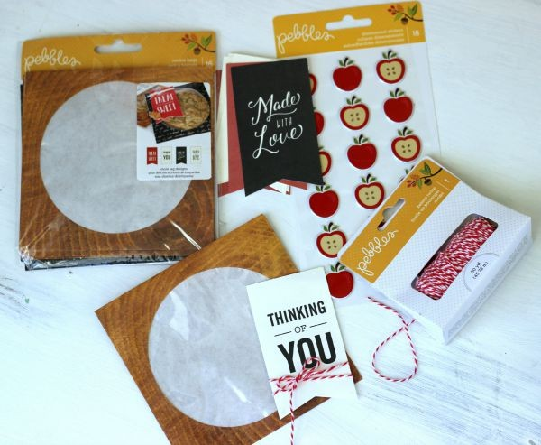 Cookie Bags and twine found in the @pebblesinc Harvest collection