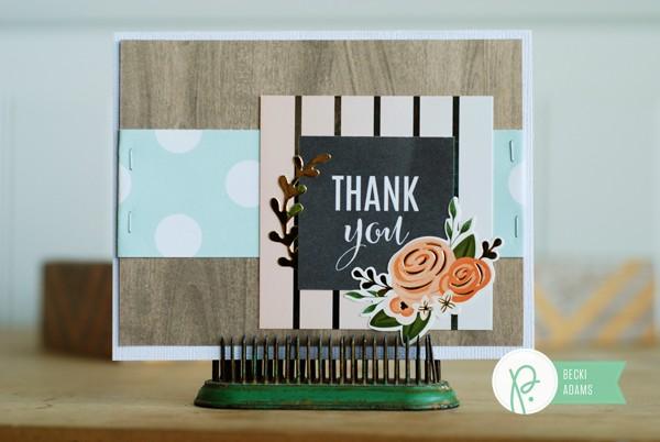 Handmade cards created by @jbckadams (Becki Adams) for @Pebblesinc using the DIY Home collection by @tatertotsandjello