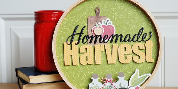 Embroidery Hoop Fall Decor