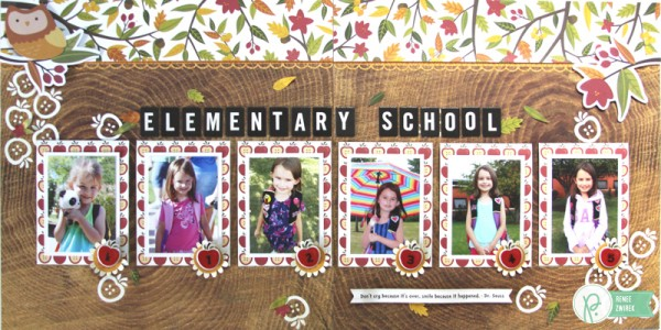 Elementary School Double-Page Layout