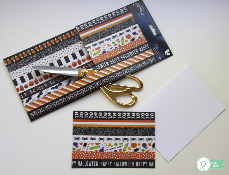 Adorable #Halloween #cards for family, friends, or teachers by @reneezwirek using the #Boo! collection by @Pebbles Inc.