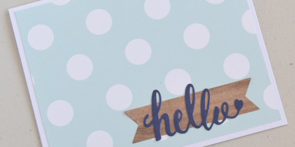 Simple DIY Home Cards