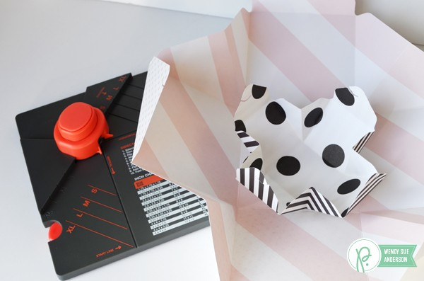 """Quick and Easy Gift Box Trio by @wendysuea with the """"DIY Home"""" Collection from @Pebblesinc."""