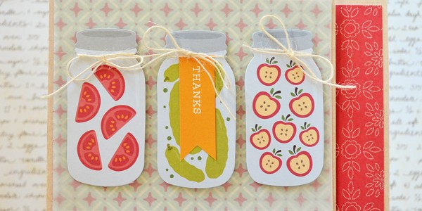 """Quick and Easy """"Harvest"""" Cards!"""